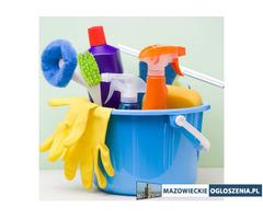 Sprzątanie domów, mieszkań, usługi ogrodnicze