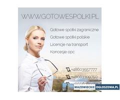 Sprzedam spółki z Licencją na spedycje i transport 603557777 KONCESJE PALIWOWE OPC