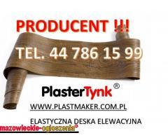 PlasterTynk ,elastyczna deska elewacyjna imitacja drewna.Dekostyl,perfectstyr,dekordeska,dekorlux